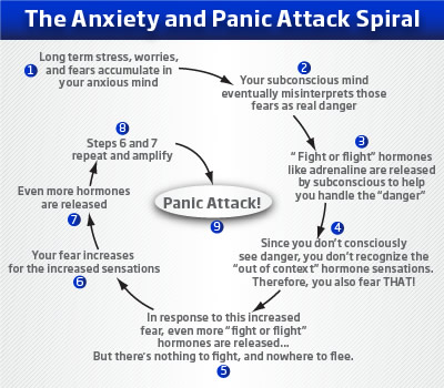 Cause of panic attacks